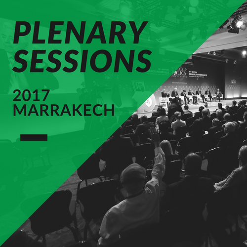 Plenary Sessions 2017