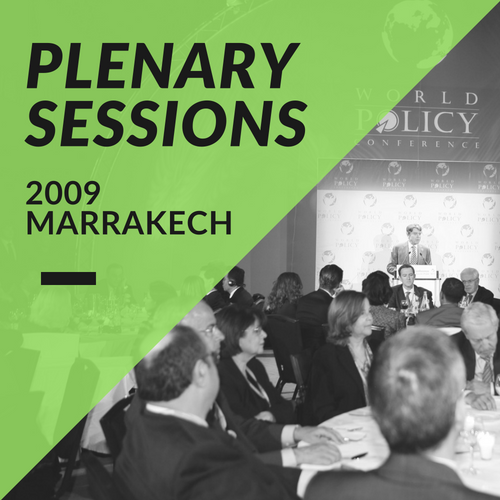 Plenary Sessions 2009