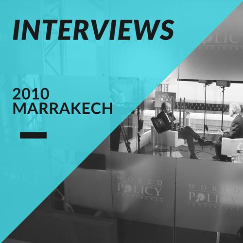 Interviews 2010
