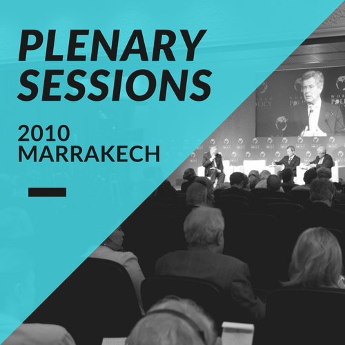 Plenary Sessions 2010