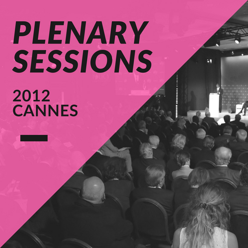 Plenary Sessions 2012