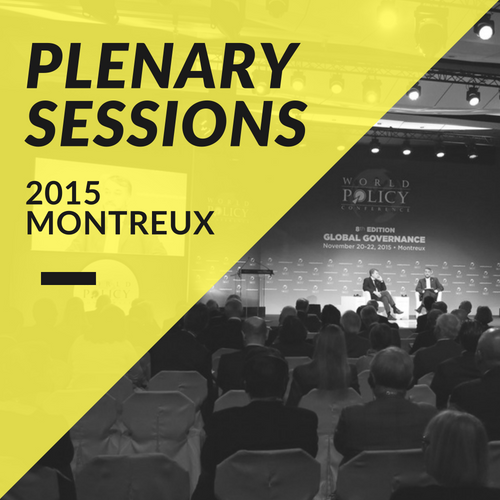 Plenary Sessions 2015
