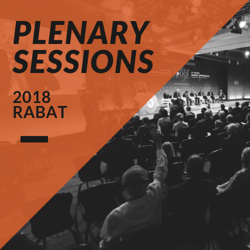 Plenary Sessions 2018